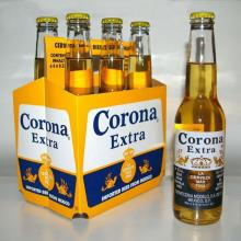 Corona Extra Beer Bottle and Can