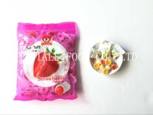 Strawberry Soft Candy / Fruit Soft Candy / Milk candy / Filled Candy
