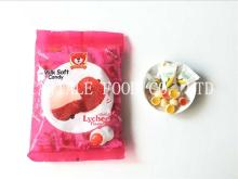 Litchi Soft Candy / Fruit Soft Candy / Milk candy / Filled Candy