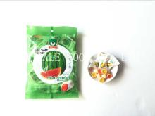 Watermelon Soft Candy / Fruit Soft Candy / Milk candy / Filled Candy