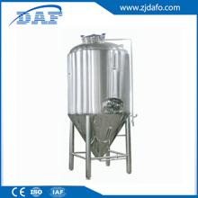 Stainless steel conical beer fermentation tank