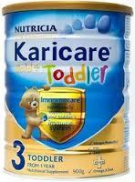 Nutricia Karicare Gold + and Aptamil Gold + Baby and Milk