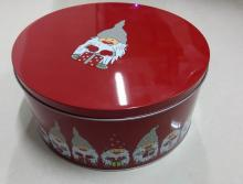 Candy Tin Can for Christmas Gift 220*100mmH