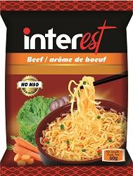 NO MSG Instant Noodles 60gr With Many Flavours