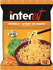 NO MSG Instant Noodles 60gr Chicken Flavours