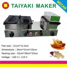 Ice cream big fish mould taiyaki cake baker making machine for sale