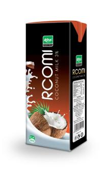 Coconut milk in 200ml Tetra pack