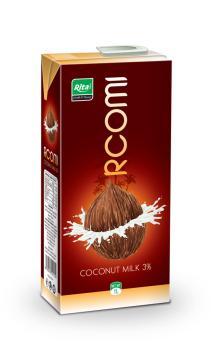 Coconut milk 1000ml Tetra