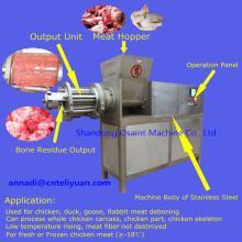 meat separator machine for meat bone deboning