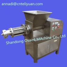 Chicken meat deboner machine