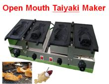 Commercial ice cream taiyaki waffle machine for sale
