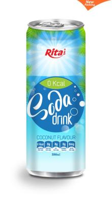 Soda Drink with Coconut Flavour