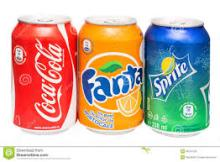 355ML Can Coca Cola , Sprite , Fanta, Pepsi, from uk