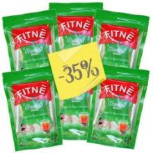 Herbal flavoured tea in pyramid tea bag