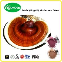 High quality anti cancer 30%polysaccharides Lingzhi Ganoderma red reishi mushroom Extract