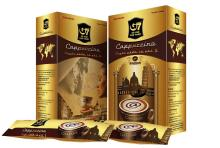 Instant coffee cappuccino chocolate