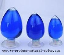 candy using colorant, spirulina blue