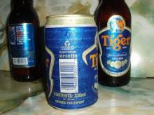 Hot-Selling  Cheap -Price Bottled Tiger  Beer  330ml
