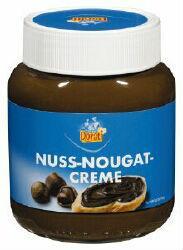 chocolate spread nougat hazelnut cream
