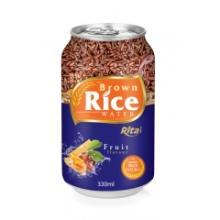 Brown Rice Water with Fruit Flavour