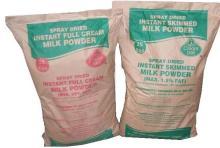 Skimmed Milk Powder/Whole Milk in Powder 25kg