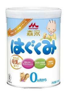 Morinaga milk powder E akachan baby food from japan