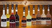 Pazo Castrelo liqueurs