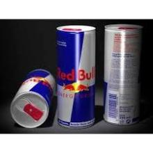 Top brand Red blue silver energy bull drink and rockstar available