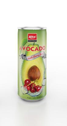 250ml Avocado with Cherry Juice