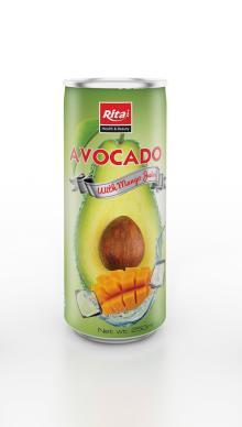 250ml Avocado with Mango Juice