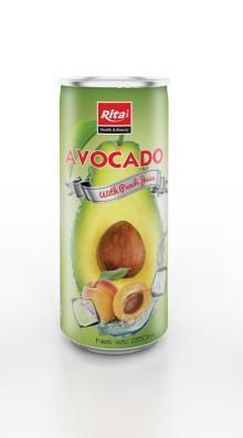 250ml Avocado with Peach Juice