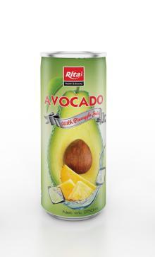 250ml Avocado with Pineapple Juice