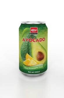 330ml Avocado with Pineapple Juice