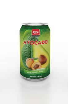 330ml Avocado with Peach Juice
