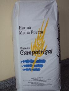 Media Fuerza: High Quality Bakery Wheat Flour