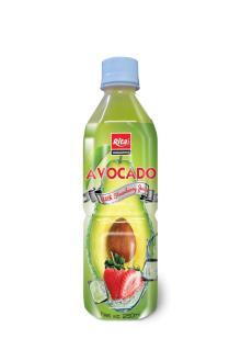 250ml bottle Avocado with Strawberry Juice