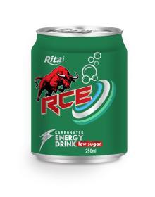 250ml RCE Low sugar Carbonated Energy Drink