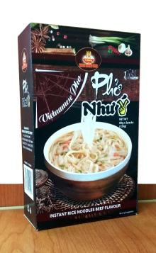 """INSTANT RICE NOODLE - BEEF VIETNAMESE """"PHO"""" 120g (2 Packs)"""