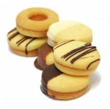 Round Biscuit Tin Box