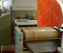 Shrimp pepper powder tea sunflower seeds microwave drying equipment