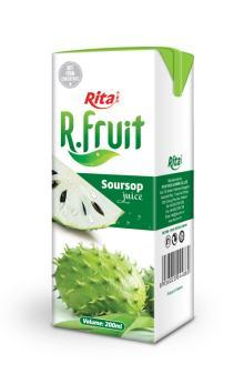 Soursop juice 200ml tetra pack