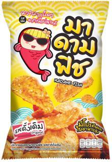 Madame Fish | Crispy Fish Snack (halal)