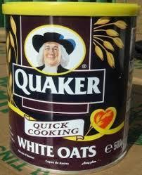 QUAKER OATS 500G TIN FOR SALE