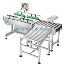automatic checkweigher machine, in motion check weigher system
