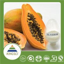 Kosher manufacturer supply papaya enzyme papain 100% natural papaya extract