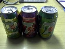 7up, 7up Cherry, 7up Sugar Free