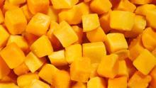 Еда  iqf   манго  кубиками