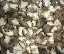 IQF shiitake mushroom