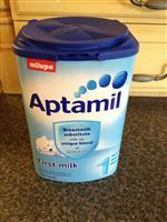 Milupa Aptamil, All Series Aptamil Infant Milk Powder, High Quality German Aptamil Baby Milk Powder