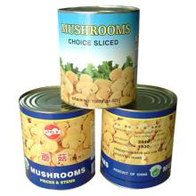 canned mushrooms